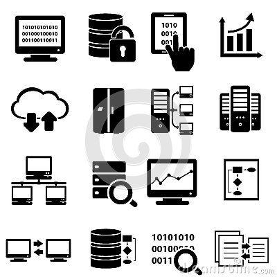 Big Data Icon Set Data Icon Technology Icon Icon Set