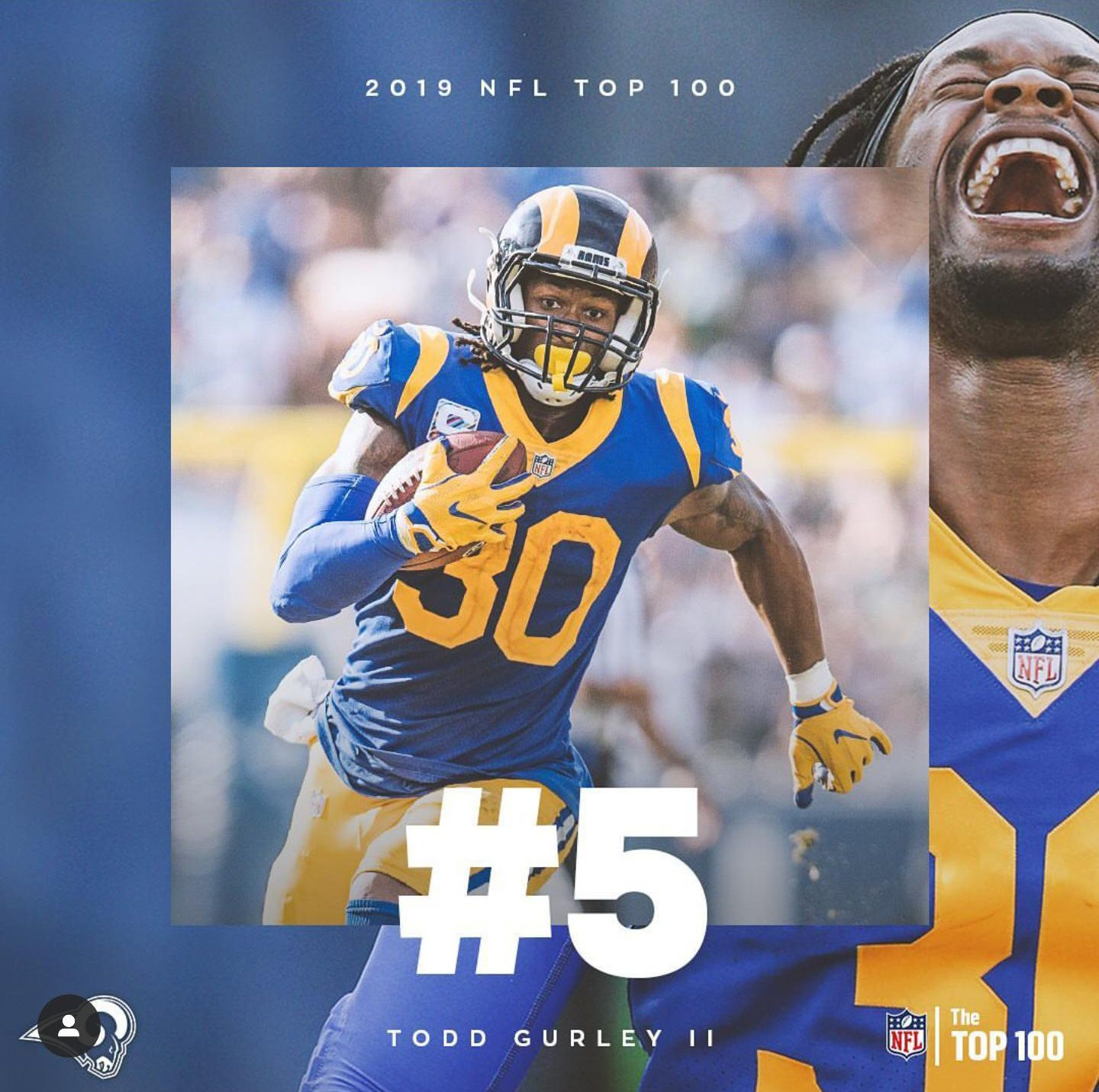 Pin By Chris Adams On March On Los Angeles Rams Todd Gurley The Todd