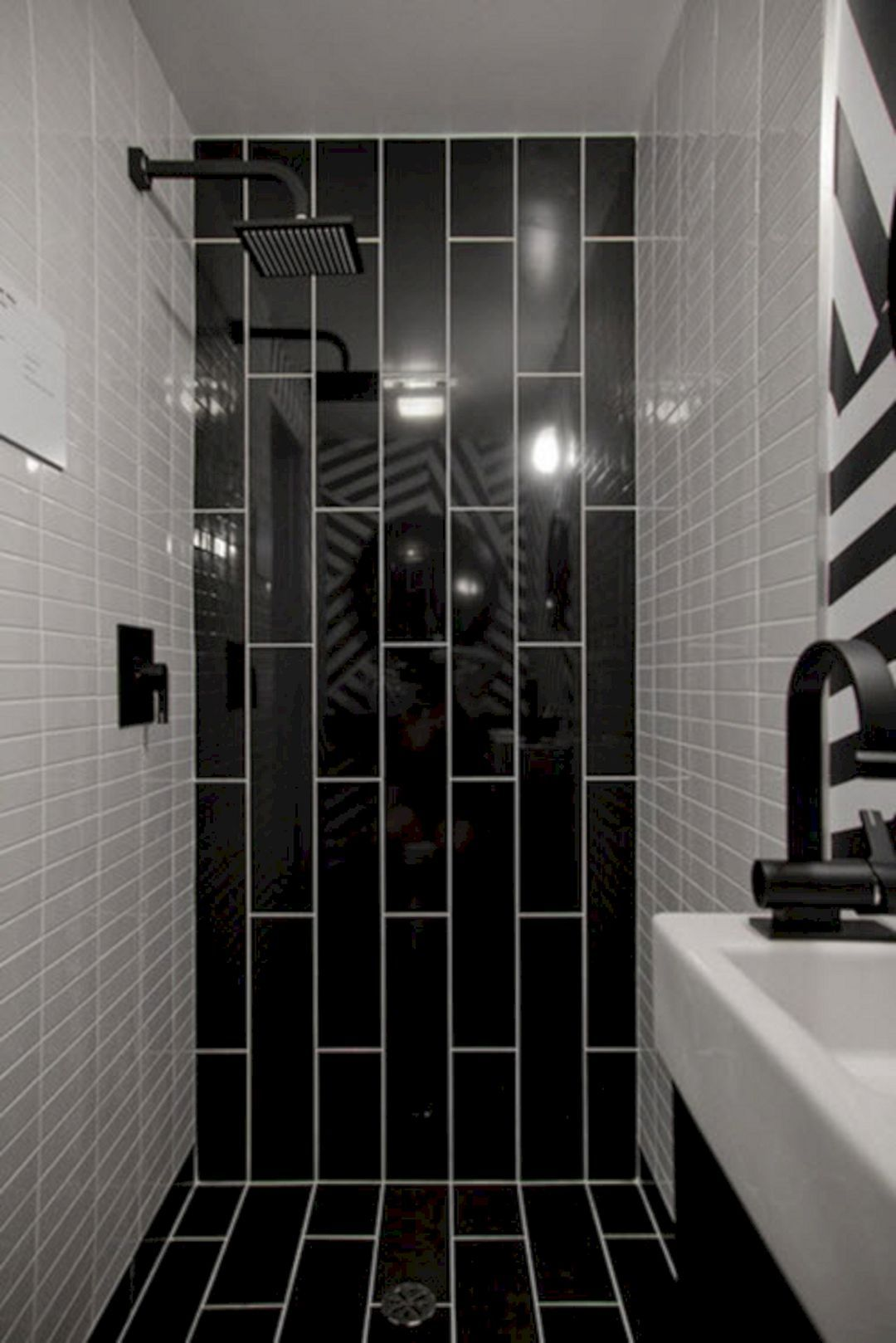 14 Most Wonderful Black Bathroom Shower Design Ideas You Need To