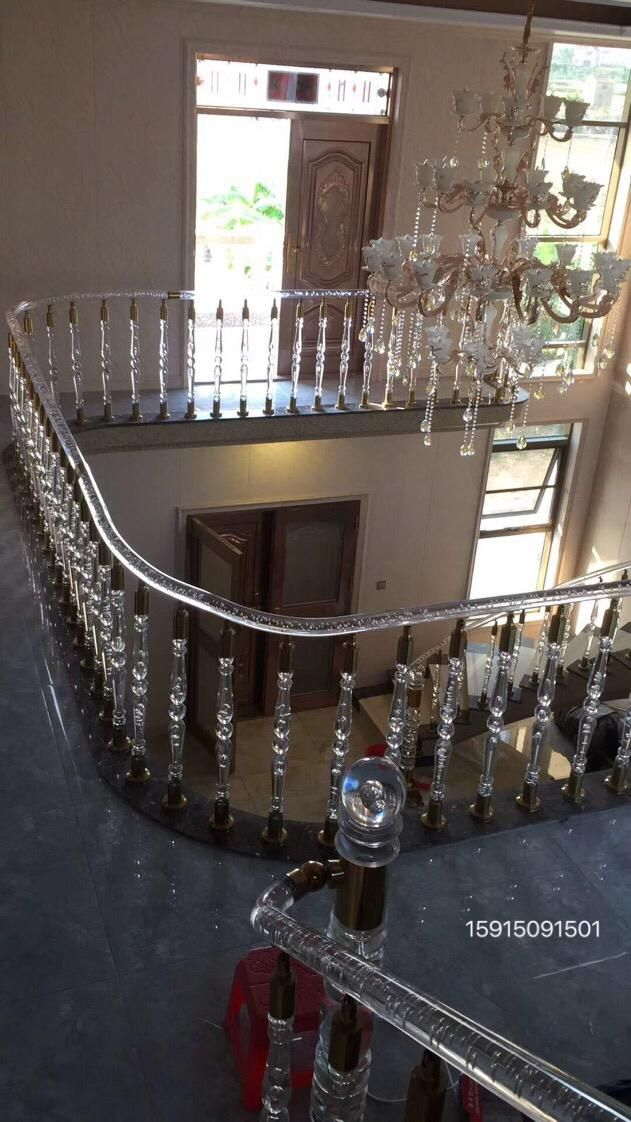Best Villa Staircase Decoration Home Design Acrylic Stair 400 x 300