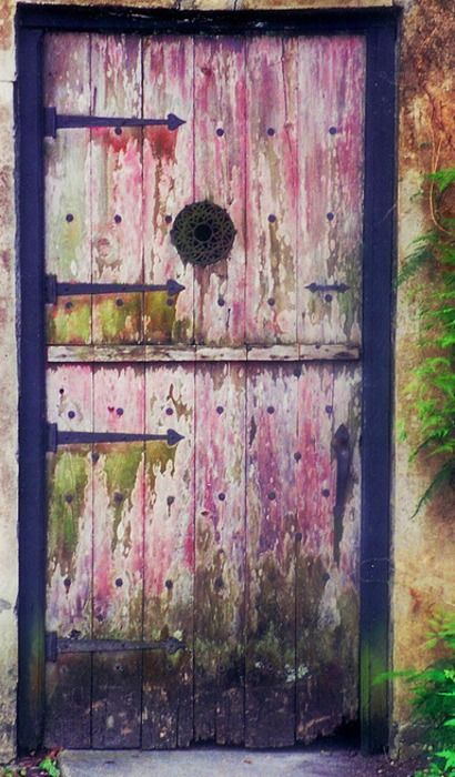 Pink Door to Paradise by Anahi