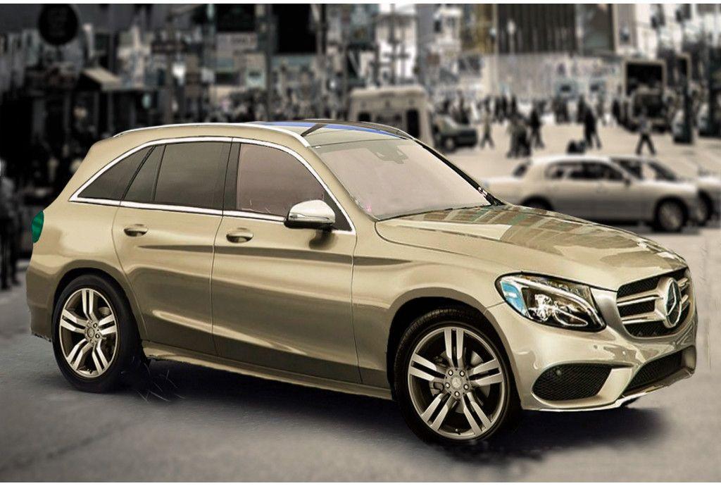 Mercedes revealed its new GLC