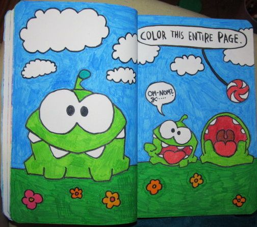 Wreck This Journal Ideas Color Entire Page Galleryhipcom The