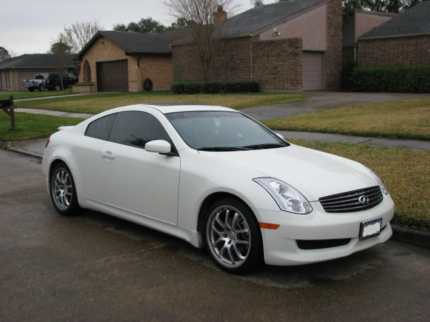 My matte silver g35 coupe exotic rides pinterest coupe vanachro Images