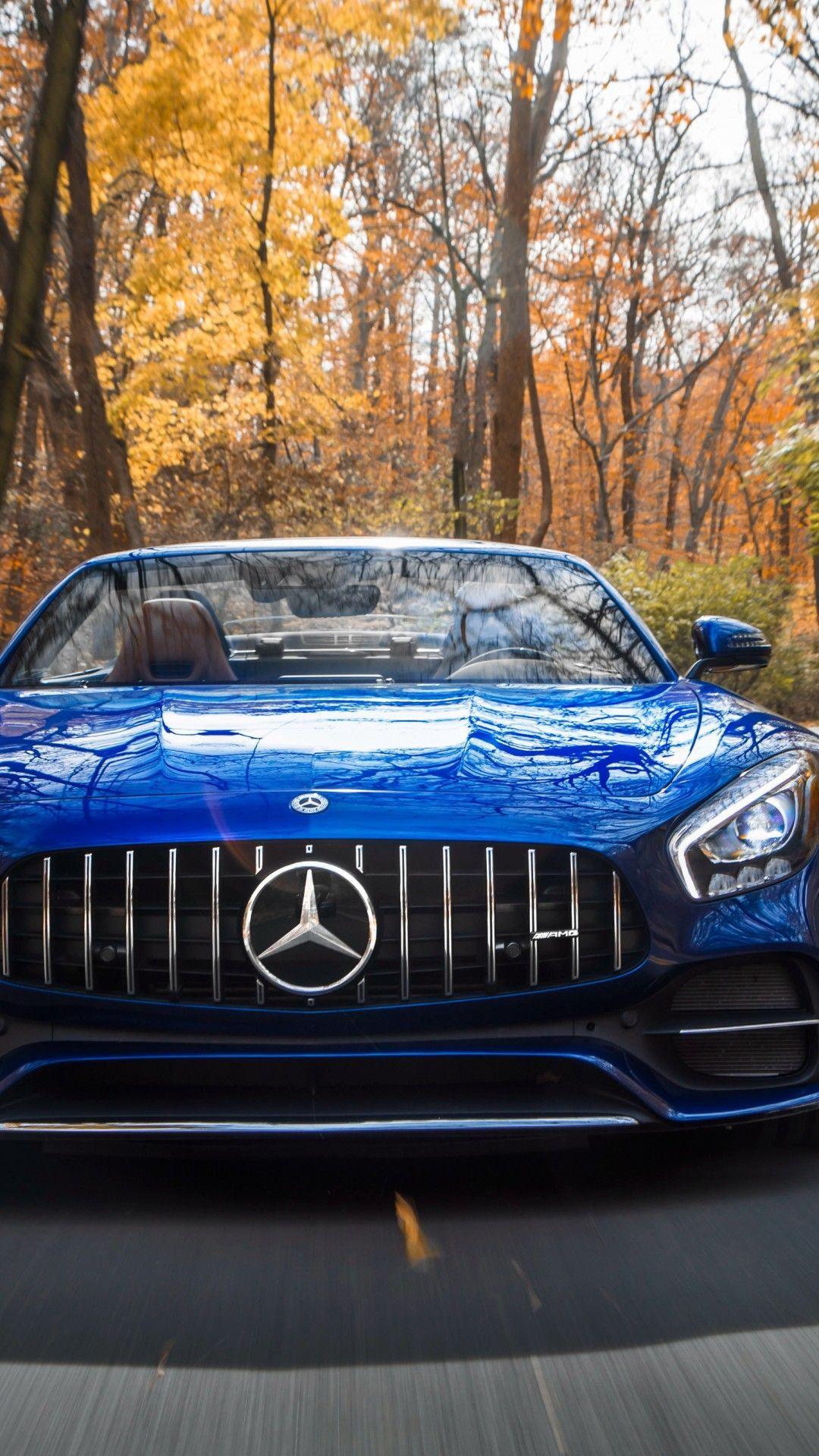Wallpaper Mercedes-AMG GT C Roadster Sports car 2018 4K ...