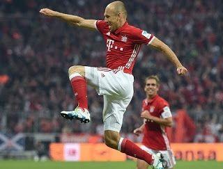Blog Esportivo do Suíço:  Robben volta após 200 dias e marca, Bayern atropela Hertha e segue 100%