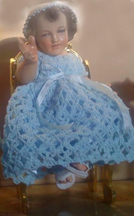 Crochet Vestido Niño Dios Bebe Niño Dios Vestido