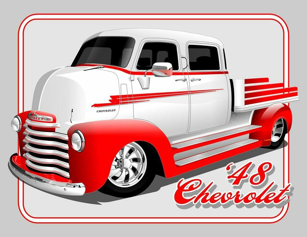 Pin by Jim Sandoe on Silhouettes Truck art, Art cars