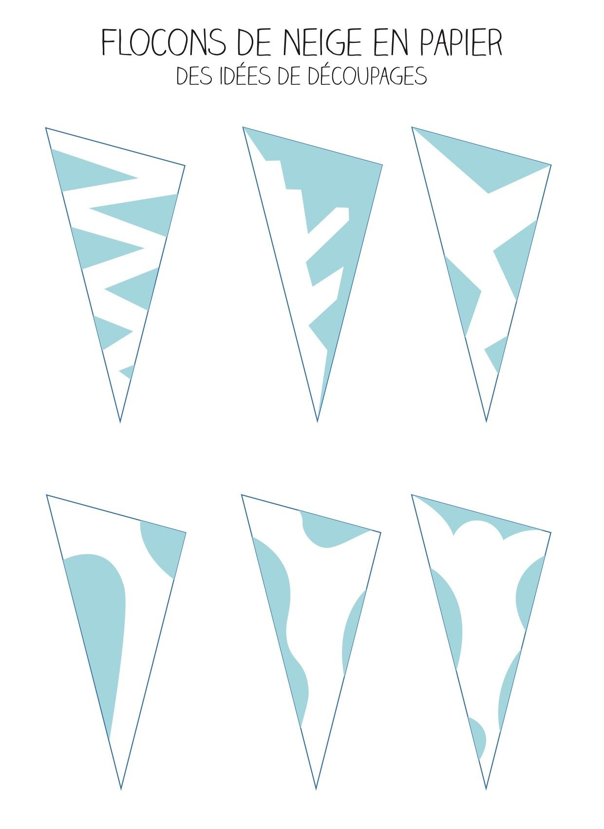 d co flocon de neige et origami flocon en papier tuto. Black Bedroom Furniture Sets. Home Design Ideas