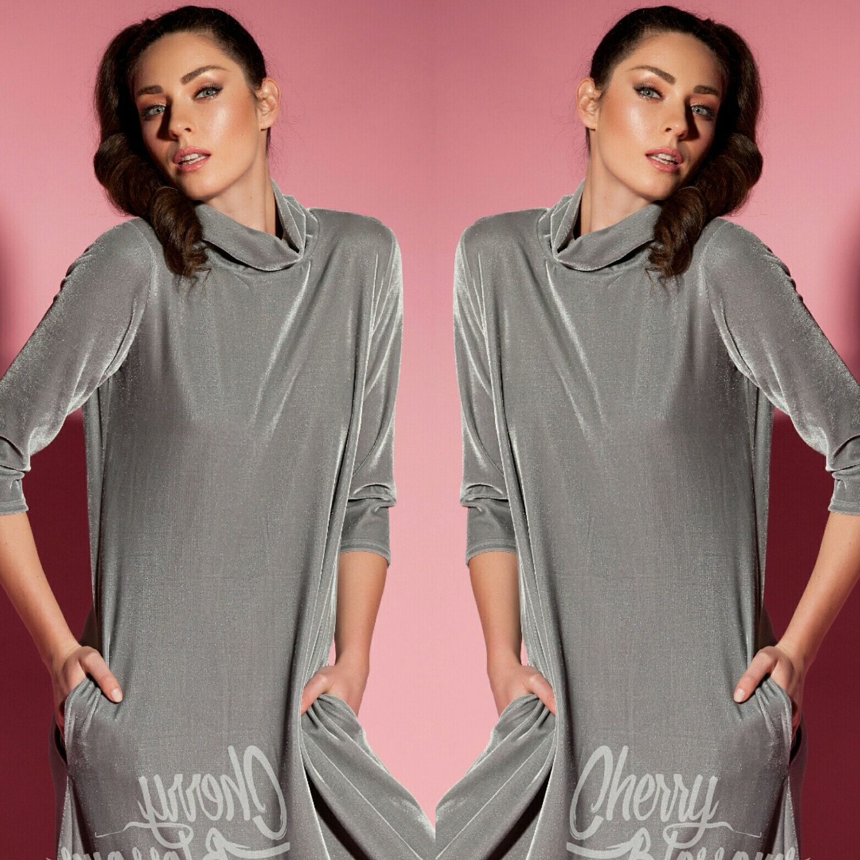 Grey velvet dress maxi dress with sleeves long sleeve maxi dress
