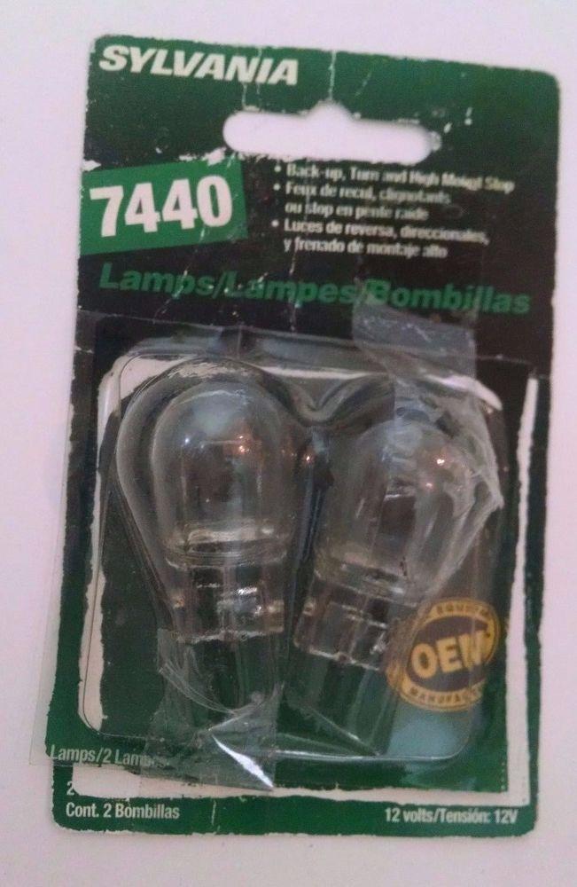 Sylvania Lamp 2 Lamps 12 Volts 7440 Bp Sylvania Sylvania Lamp Cool Stuff