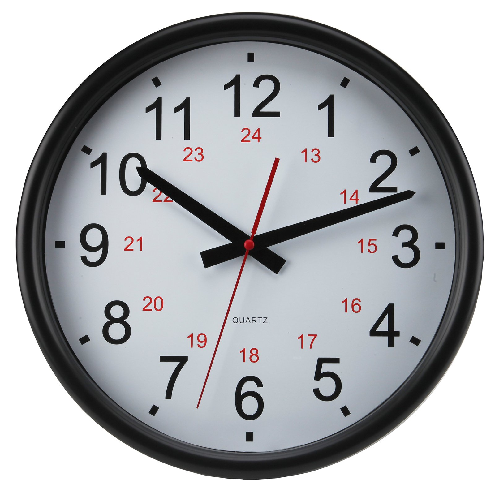 Timekeeper 14 In 24 Hour Wall Clock
