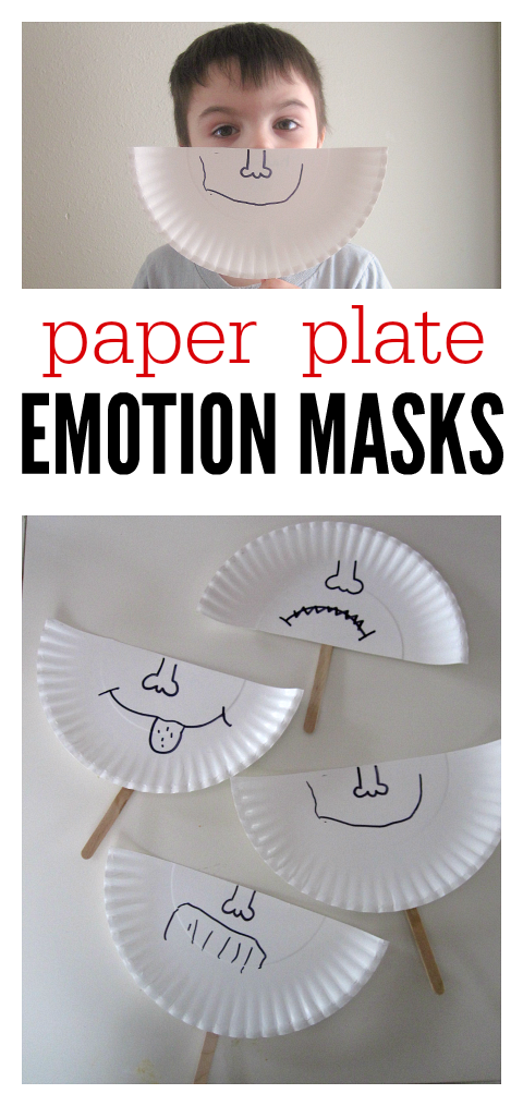Talk about feelings and make these emotion masks at preschool. & Paper Plate Emotion Masks | Pinterest | Feelings Masking and Activities