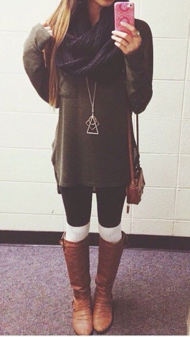 00645b57470 20 Style Tips On How To Wear Knee Socks This Winter