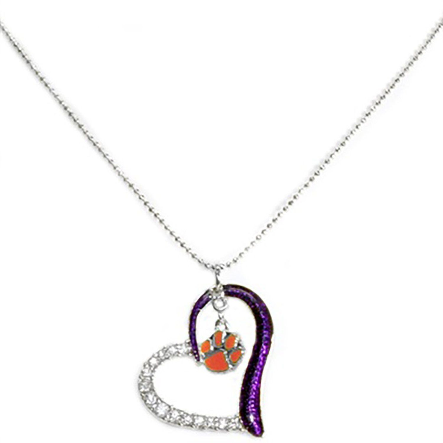university map pendant pendants necklace pin and clemson products