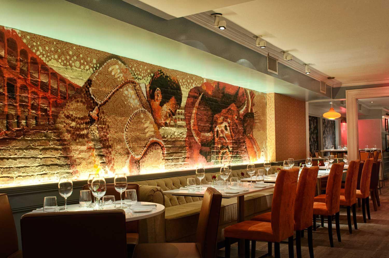 A Michelin Starred Spanish Restaurant Named Andanada 141