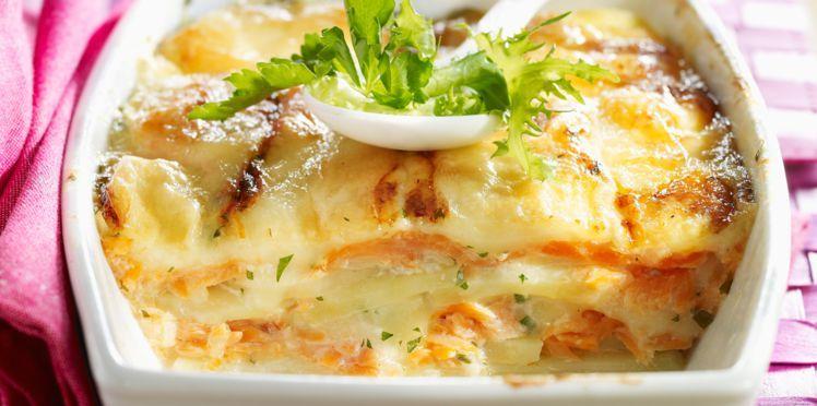 Tartiflette au saumon : découvrez les recettes de cuisine de Femme Actuelle Le MAG