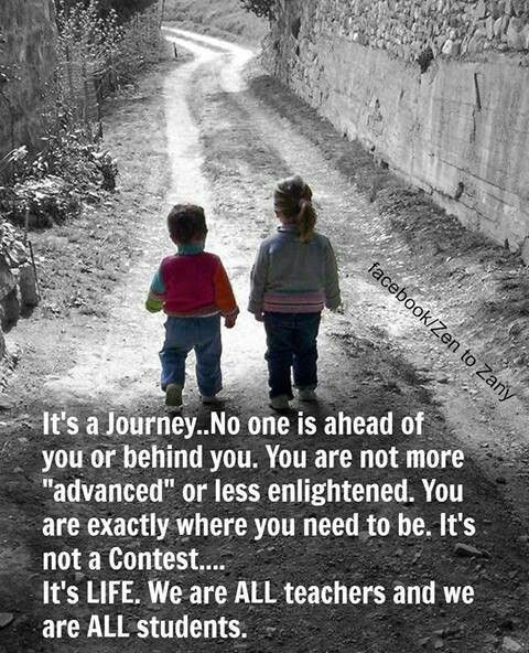 Life! Its a journey!