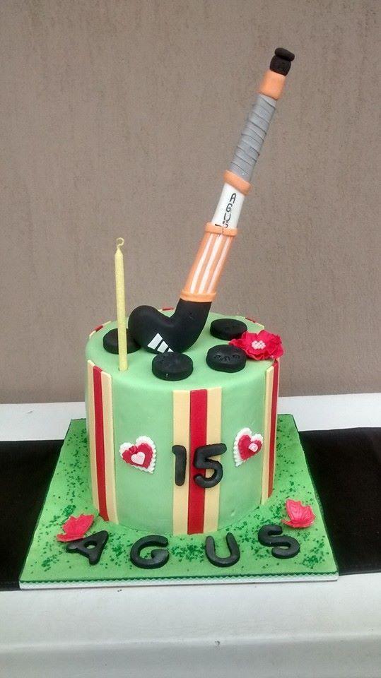 Torta De Hockey Torta De Cupcakes Tortas Tortas De Hockey