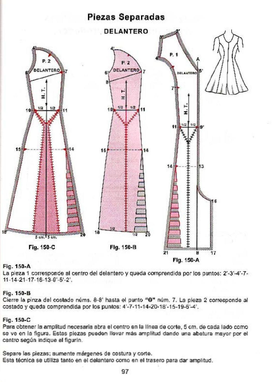 Corte de alta costura cyc | Patrones | Pinterest | Sewing, Sewing ...