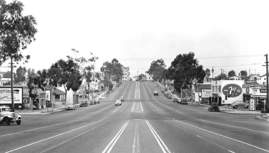 El Cajon Blvd near Texas St San diego city, San diego