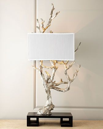 Silvery Mesquite Table Lamp At Horchow 505 Inches Tall