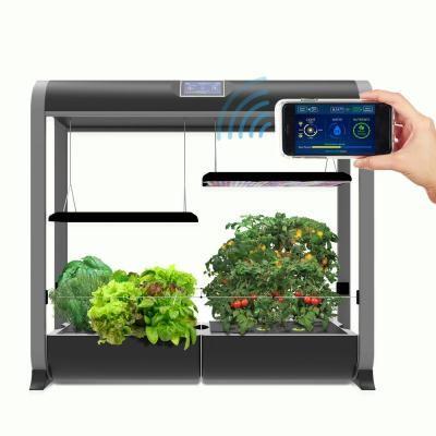 Aerogarden Farm Plus Hydroponic Indoor Garden In Black In 400 x 300