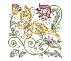 Jacobean Embroidery Patterns | Details about JACOBEAN EXOTIC - 20 MACHINE EMBROIDERY DESIGNS