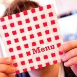 menu restaurante en tiempo de crisis