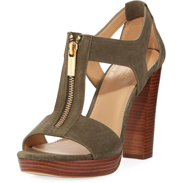 Platform sandals heels