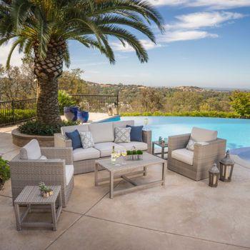 costco ballina 6piece seating set 2k porch - Costco Patio Furniture