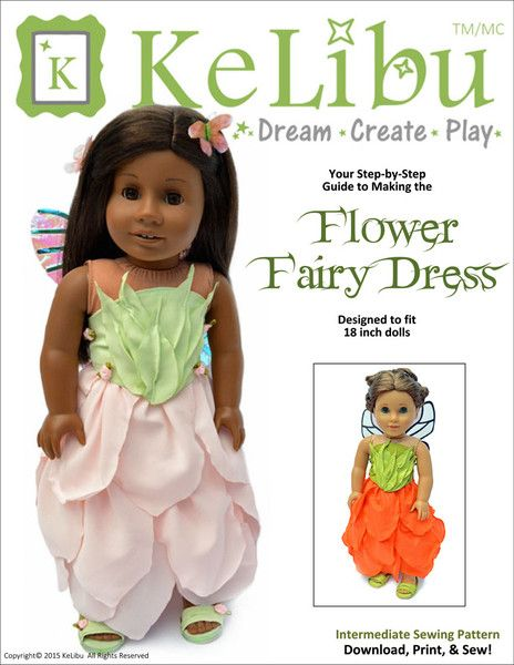 FLOWER FAIRY DRESS 18\