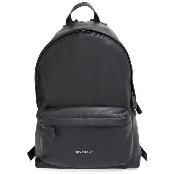 d618f477667 Givenchy Calfskin Leather Backpack (£1,245) ❤ liked on Polyvore featuring  bags, backpacks