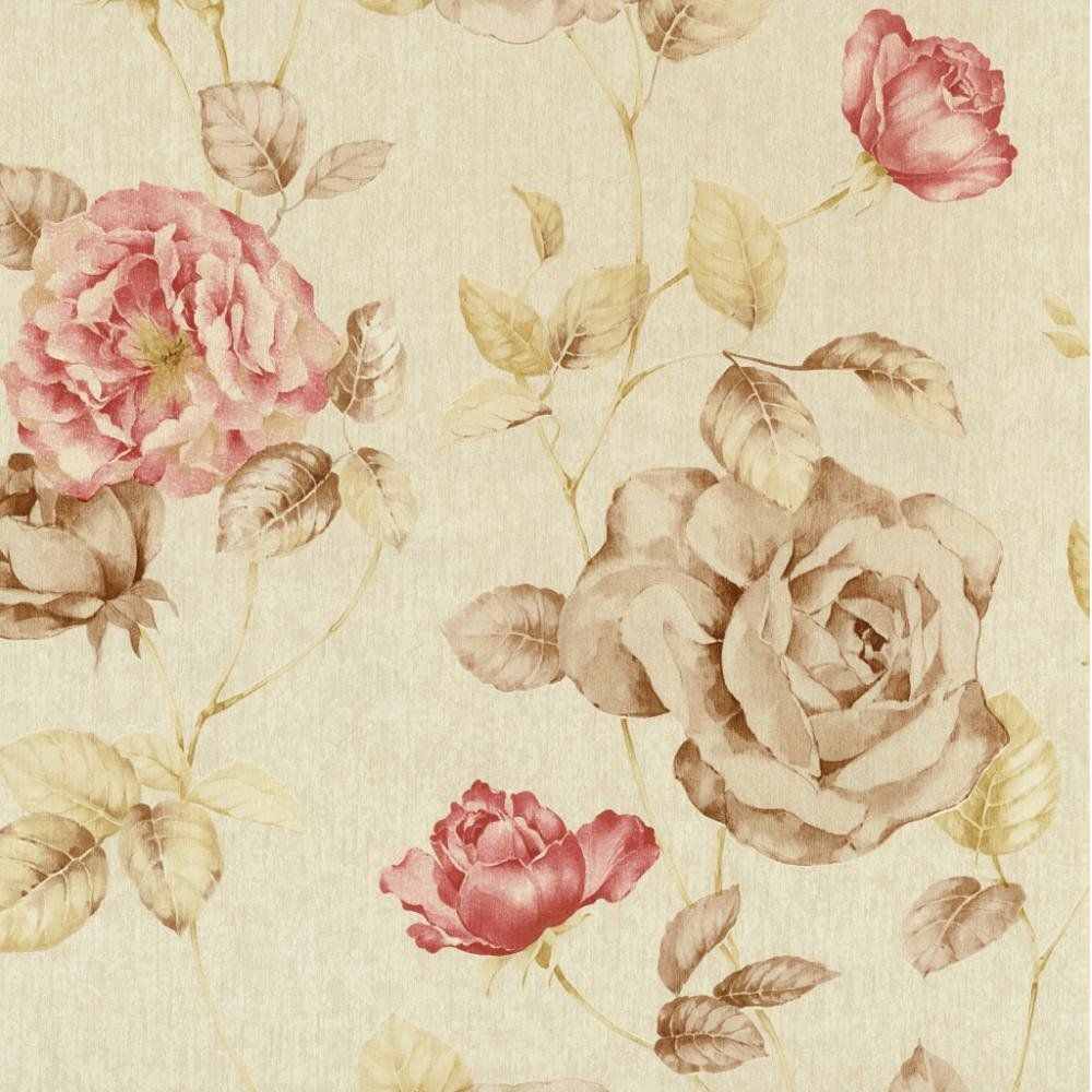 Vintage Flower Walpaper Google Search With Images Floral