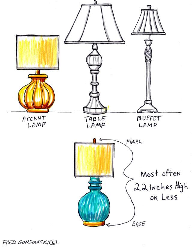 Accent Lamps Short In Stature But Can Emit A Lot Of Light Accent Lamp Lamp Buffet Lamps