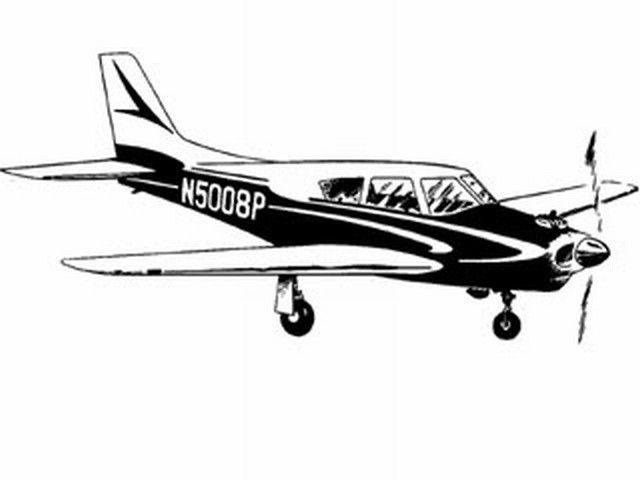 Piper Comanche (oz255) by Don McGovern from Berkeley 1958