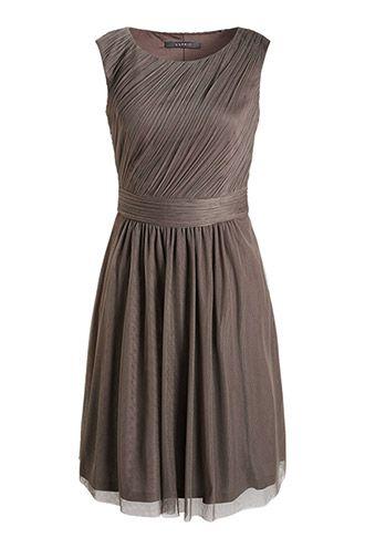 Esprit / Soft fließendes Tüllkleid | Kleider ...