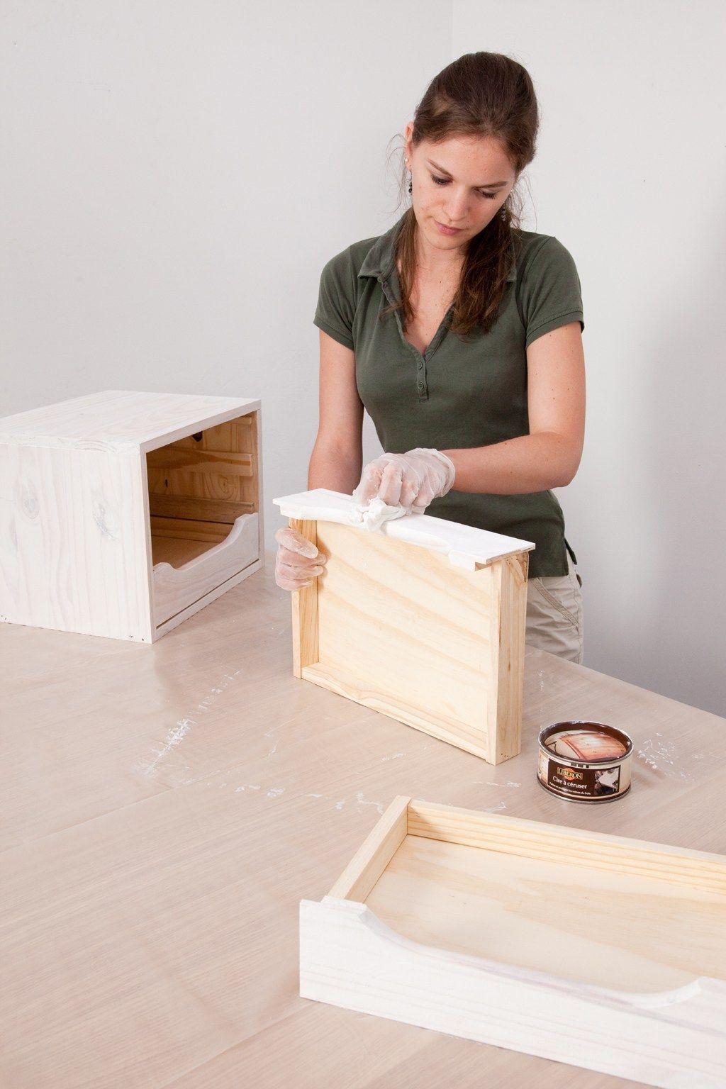 C ruser un meuble diy relooking ceruser un meuble meuble et mobilier de salon - Ceruser un meuble en pin ...