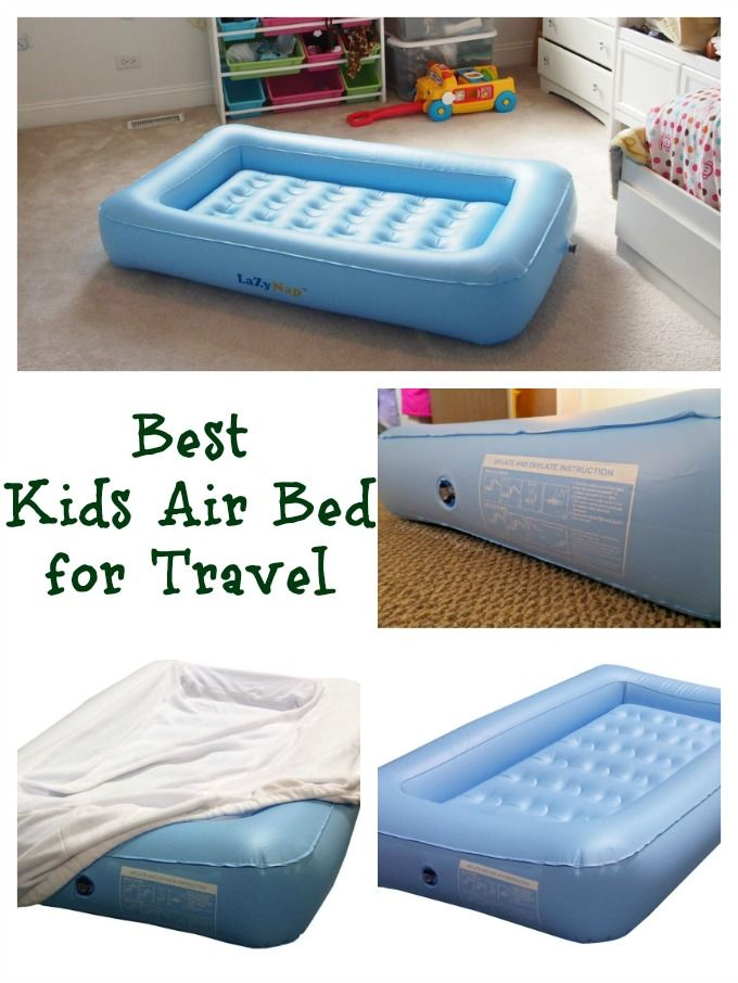 Traveling With Kids LazyNap Air Bed Perfect For Holiday Travel