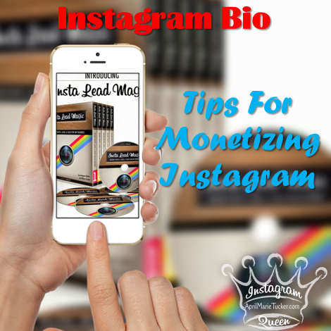 Instagram is a very profitable marketing platform if you know how to grow your following and turn your following into paying customers or new recruits in your home business. The problem is most people are losing money on Instagrambecause they overlook the most profitable piece of real estate they have! Your Instagram Bio is where