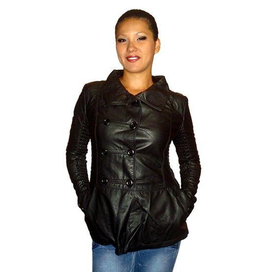 Saco negro--> S/.100.oo / Ecocuero / Talla S-M. Envío gratuito todo Lima. Telf: 658-6787 mail: admin@imarket.com.pe . También hay color blanco hueso www.imarket.com.pe