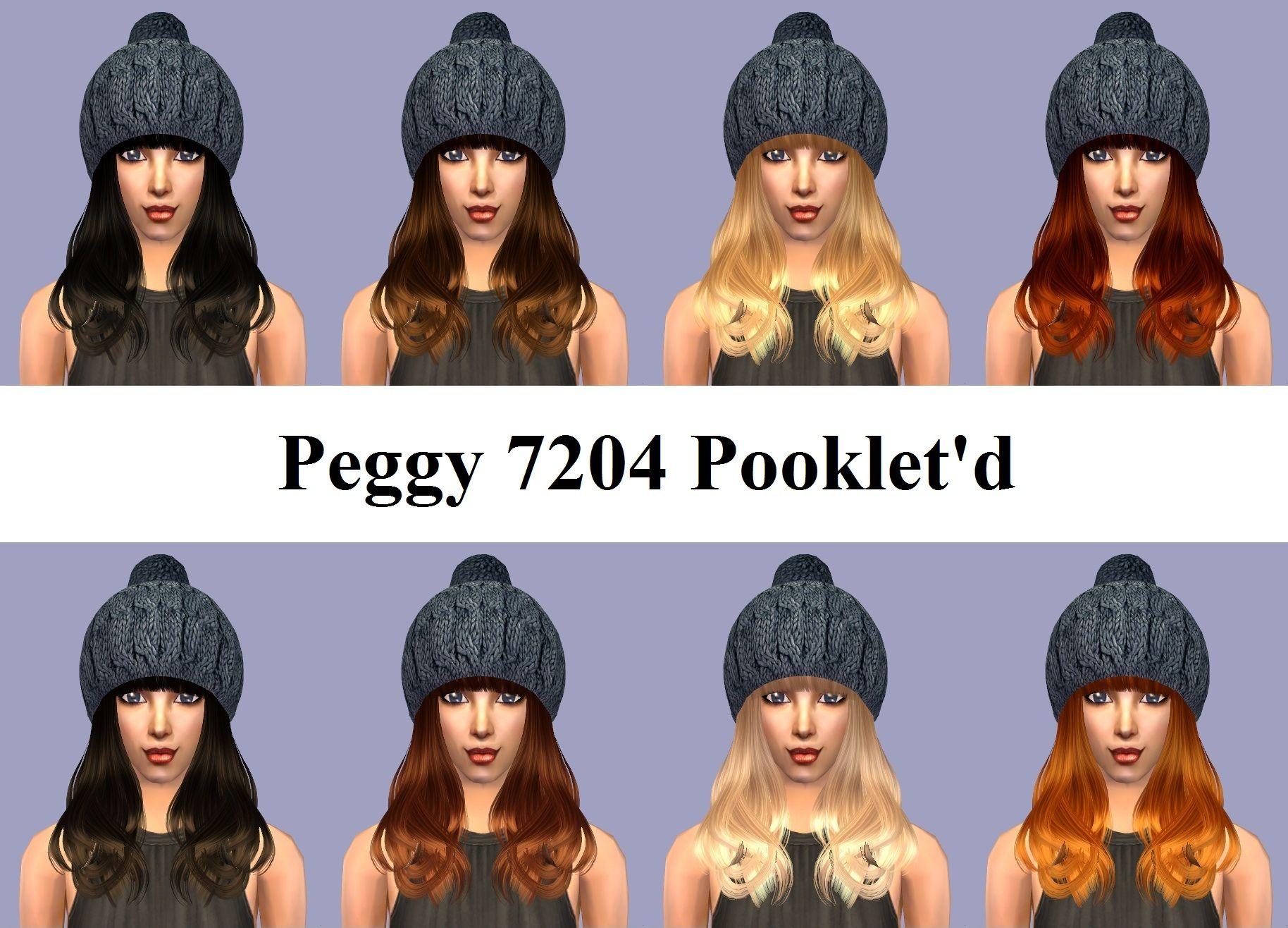 Mod The Sims - Peggy 7204 Pooklet'd