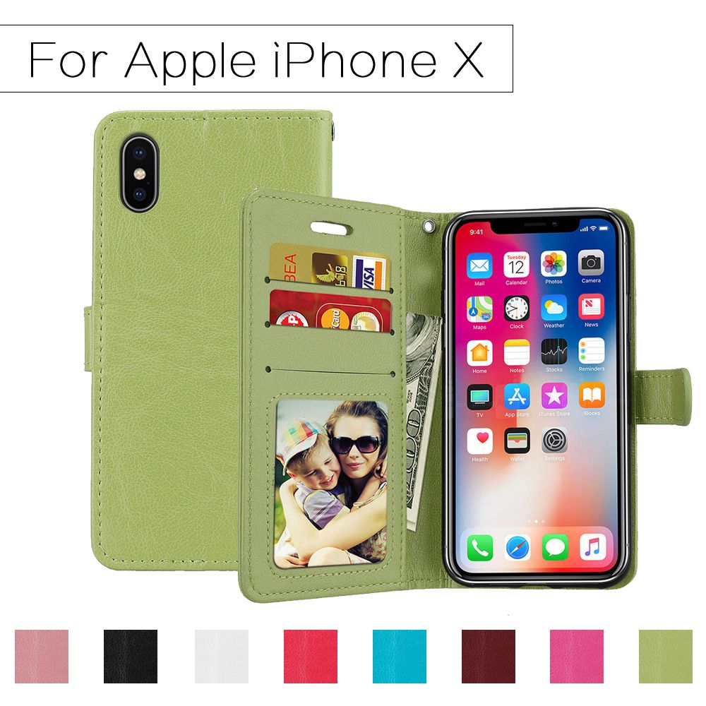 Us 3 99 Ttomyyoug Wallet Case For Apple Iphone Flip Cover Pu Leather 10 Stand For Iphone X Apple Case Cover Flip Iphone Leather Stand Ttomyyoug Wal