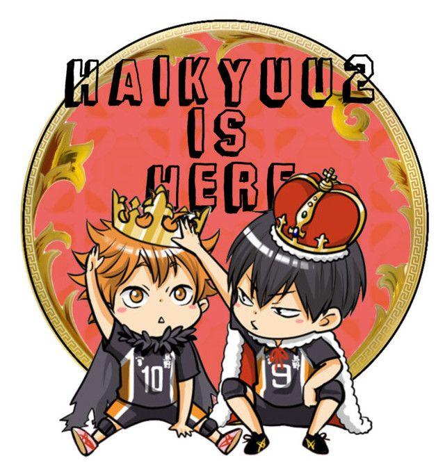 "HAIKYUU SEASON 2 IS HEREEEEE"" ❤"