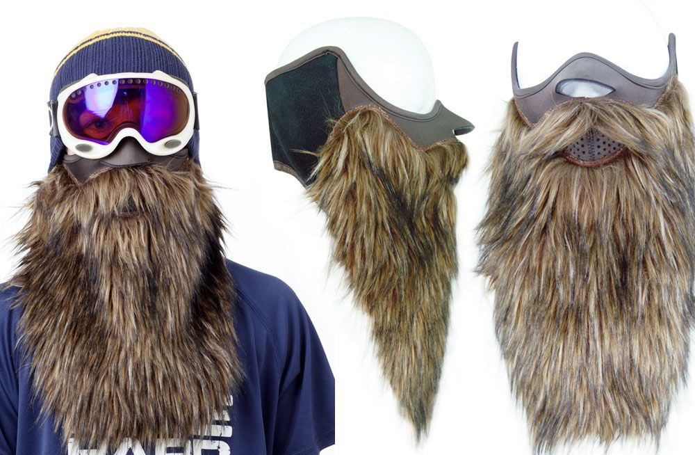 46d21cf8d82 Ski like Big Foot with Beardski - Best gear and gadgets for men. The place  to find cool stuff for guys.