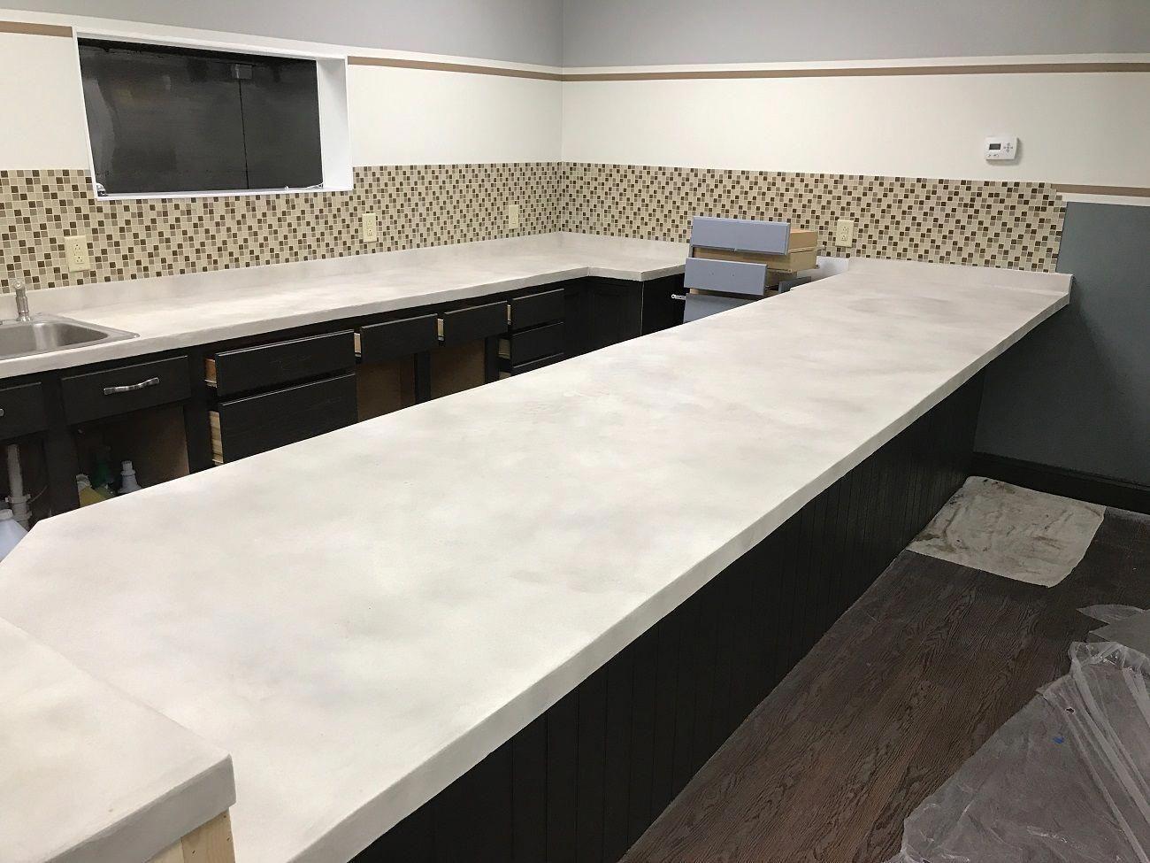 7 Diy Kitchen Countertop Ideas Concrete Countertop Design