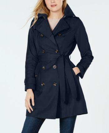 DREAMVAN Women Casual Coat Sun Protection Solid Hooded Long Sleeve Raincoat Coat Trenchcoats