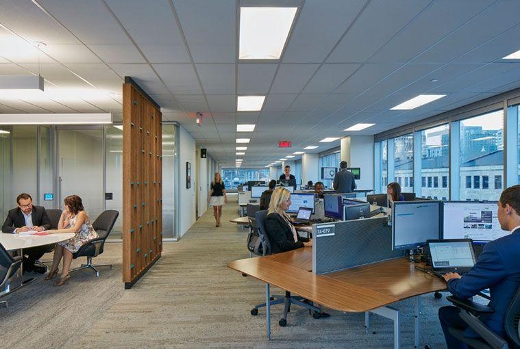 Deloitte Montreal Workplace Project Deskspace Workplace