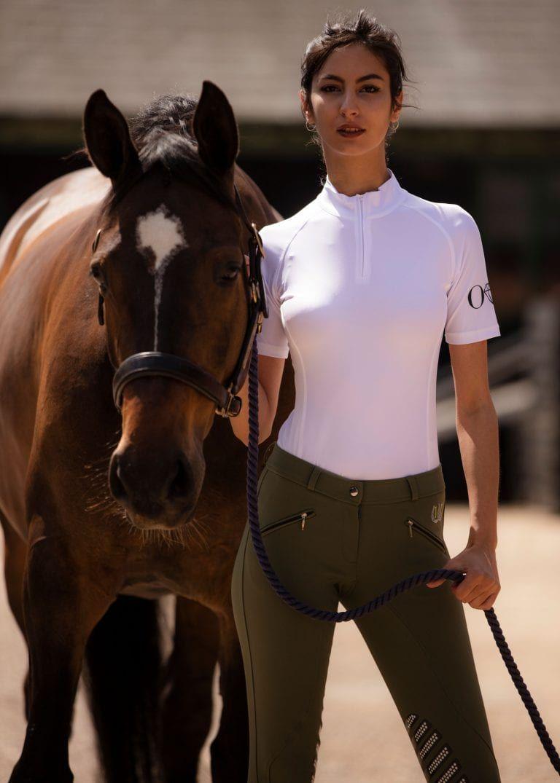 Just Jodz Ladies//Womens White Breeches