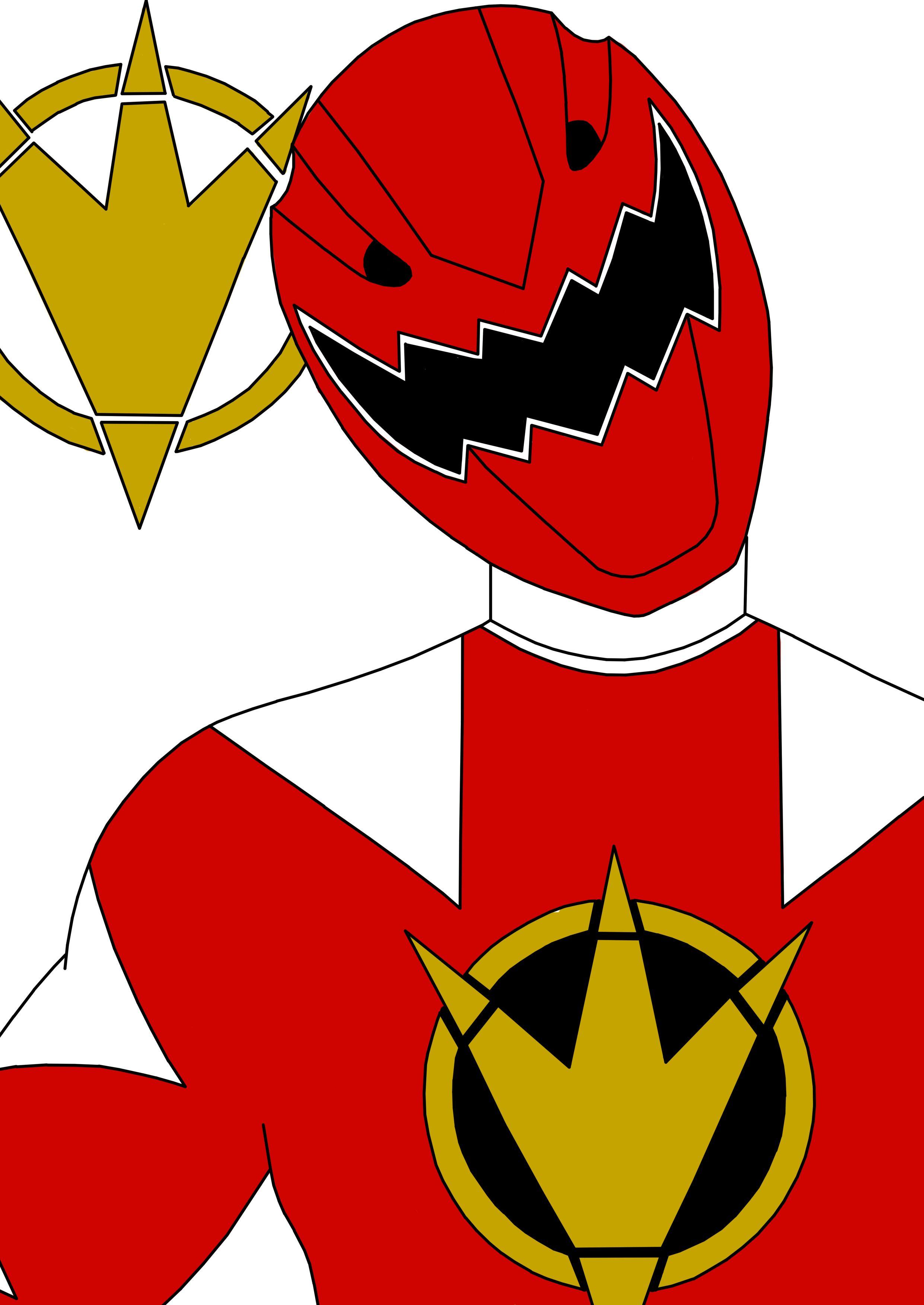 Red Dino Thunder Ranger By Septimusparker On Deviantart Ranger Power Rangers Dino Thunder